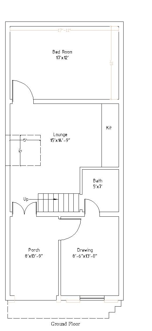 50 square meter house floor plan for Home design 84 square metres