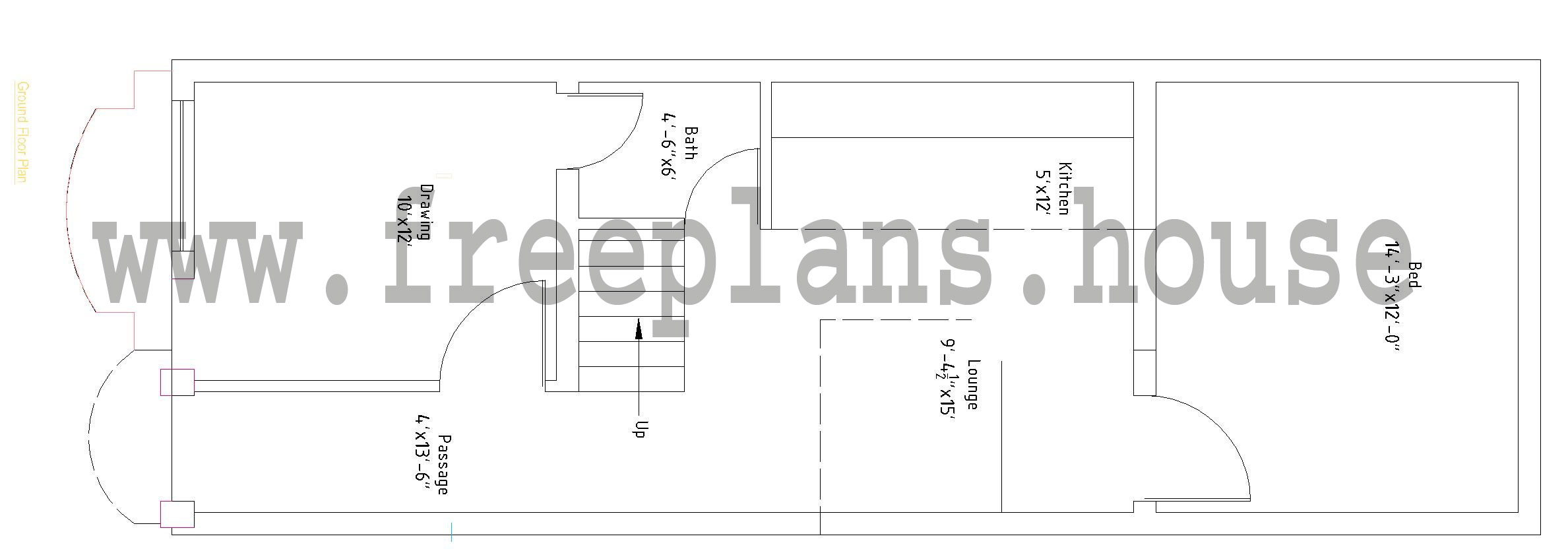 15 X 45 House Plan Idea Home And