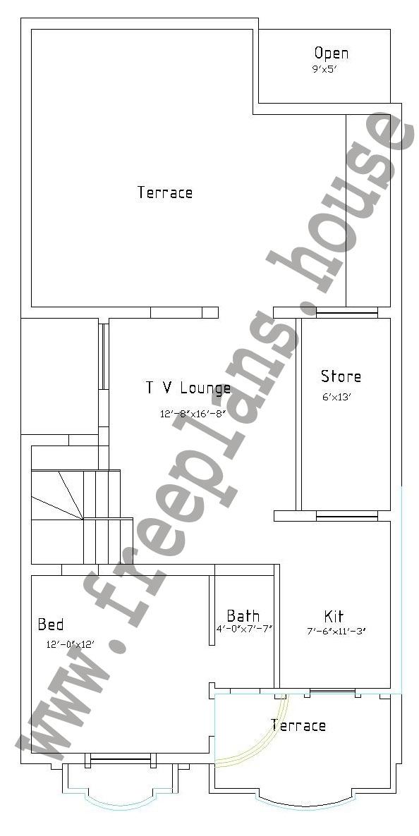 25 50 feet 116 square meters house plan for 25 x 25 house plans