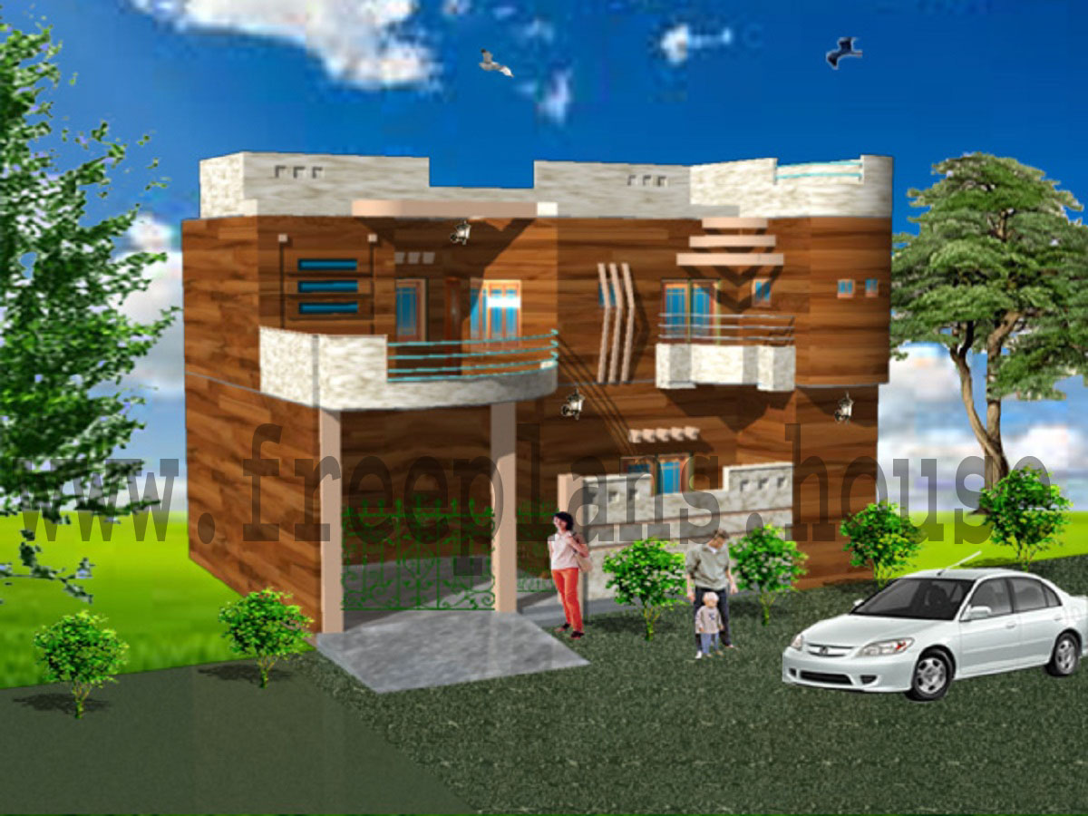Elevation Designs For Ground Floor Building : ′ square meters house plan