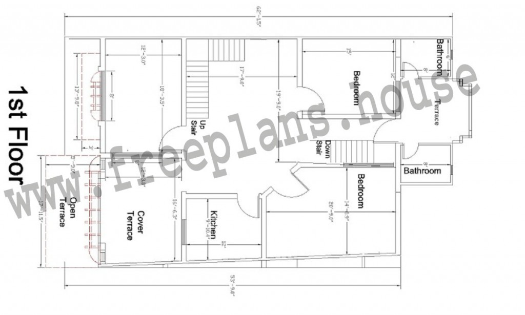 35 55 Feet 178 Square Meters House Plan