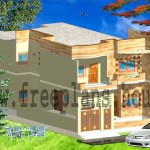 35×65 Feet /211 Square Meters House Plan