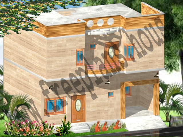 30x23 Feet House Modle