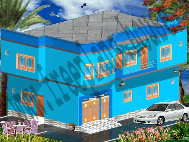 30x45 Feet House Model