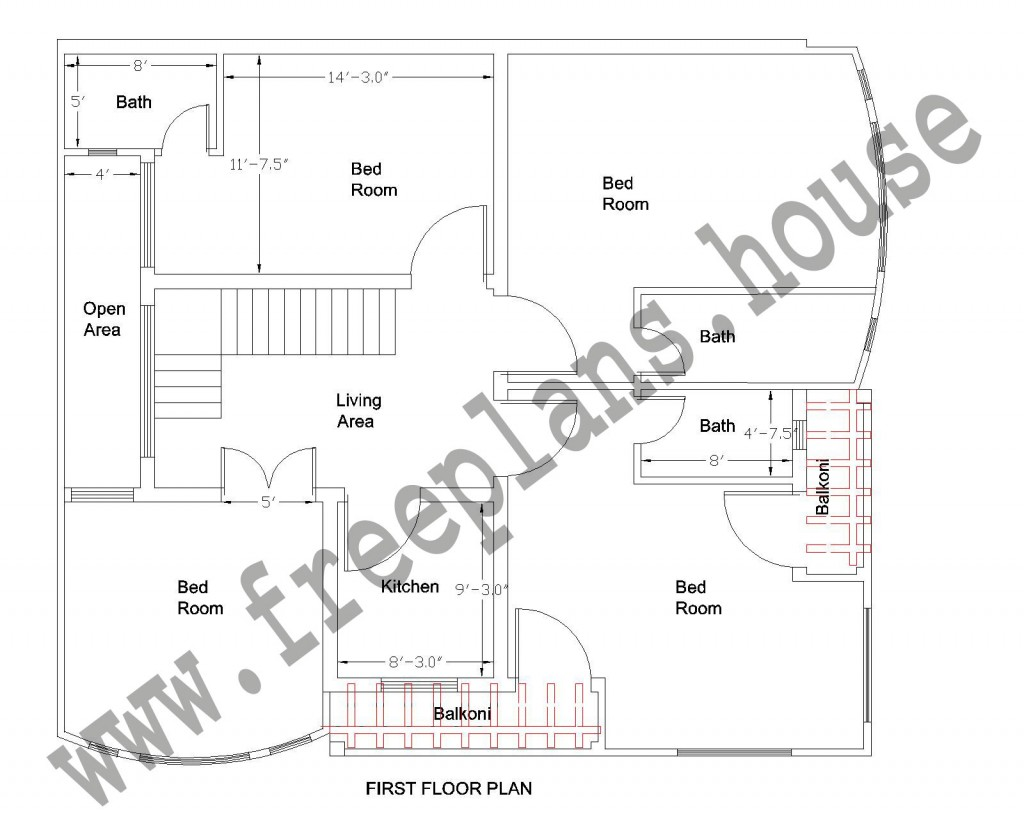 39 34 Feet 123 Square Meter House Plan