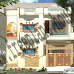 35×55 Feet/ 178 Square Meters House Plan
