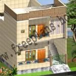 25×45 Feet /104 Square Meter House Plan