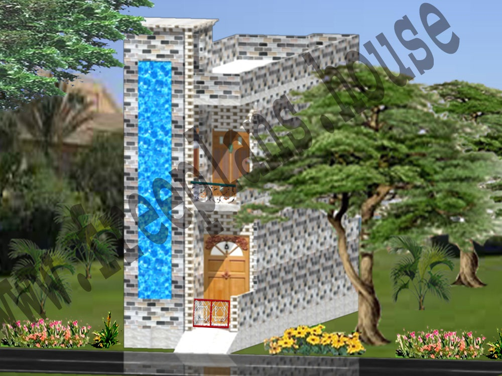 12x45 Feet House Interior Design,