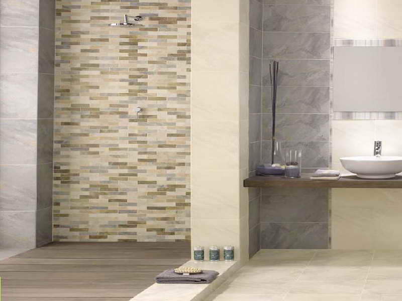 Bath room tile ideas for Small bathroom tiles design