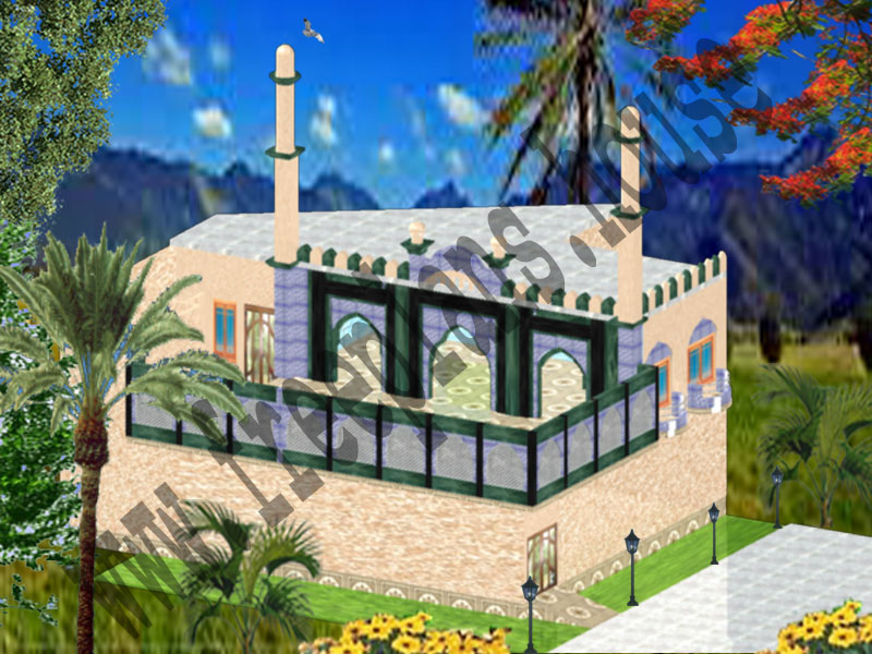 42x56 Feet  Masjid Plan,