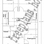 32X62 Feet /184 Square Meter House Plan,