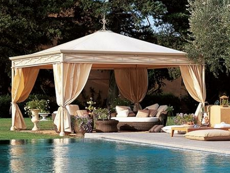 Green-Garden-Gazebo-Design-Picture-2