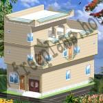 25×48 /111 Square Meter House Plan,