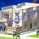 30X65 Feet/1800 Sq Feet/218 Sq Meters House Model