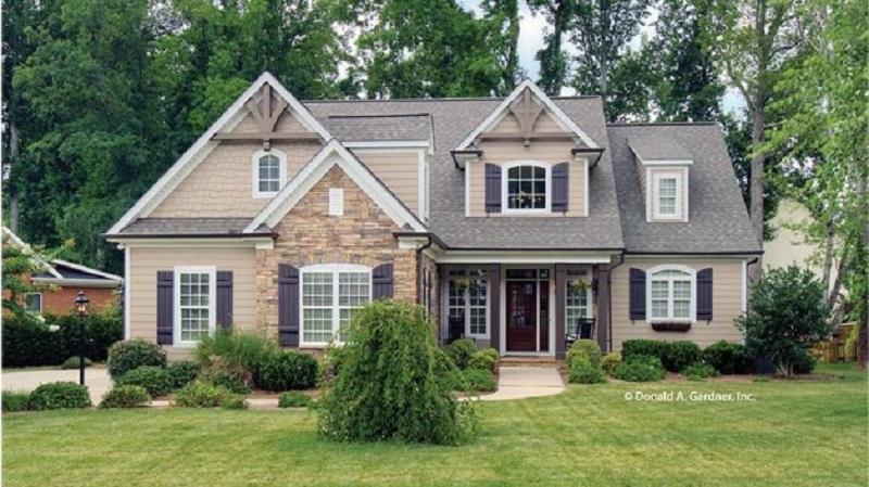 Cottage House Plan, Via