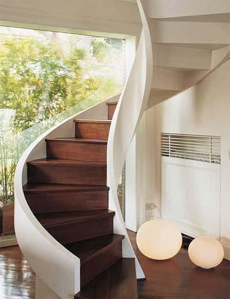 House Stair Design Ideas-8, Via