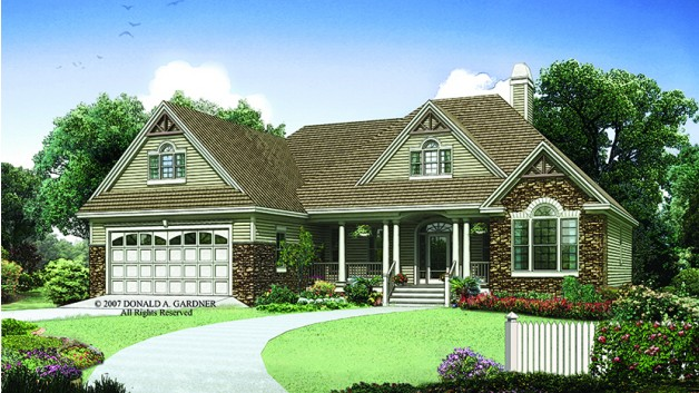 1668 SQ Feet Home Plans, Via