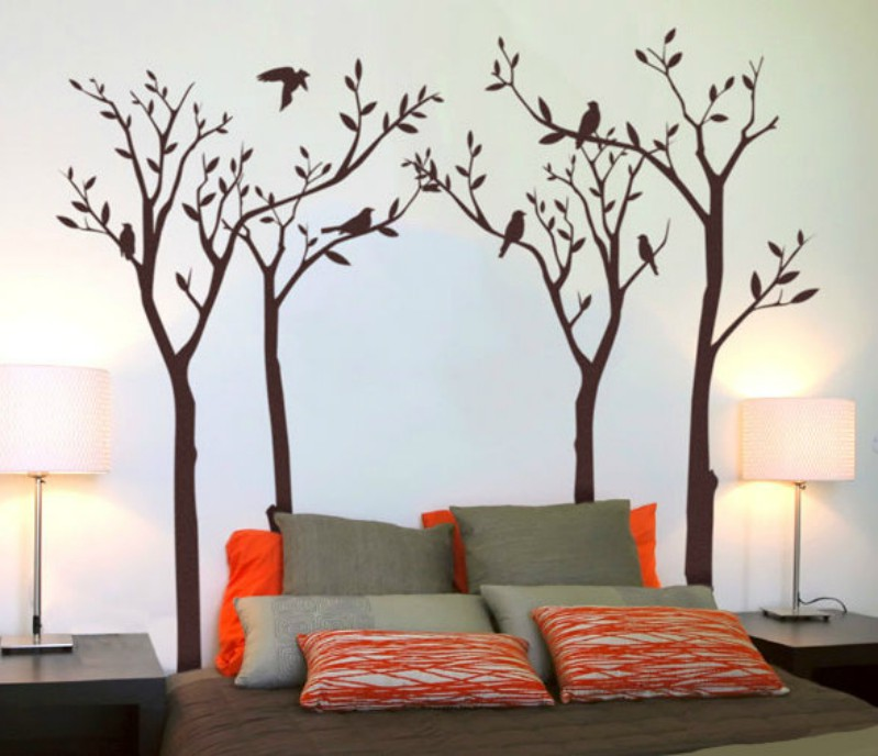 6-wall-painting-bedroom, Via