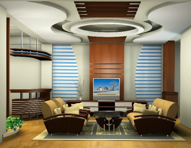 living-room Ceiling- 6, Via