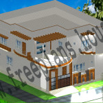 40×48 Square Feet, 12×14 Square Meters House Plan