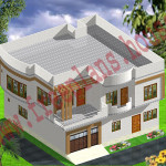 40×40 square Feet /148 square Meters House Plan,