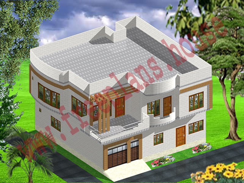 40x40 square Feet Home Plan