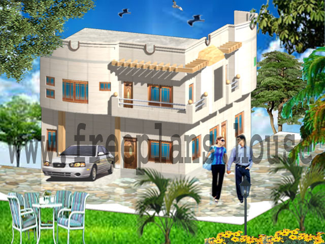 30×36 / 90 Square Meters House Plan - Free House Plans