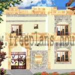 30×40 Feet / 108 Square Meters House Plan