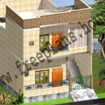 25×45 Feet /104 Square Meter House Plan