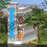 12×45 Feet /50 Square Meter House Plan,