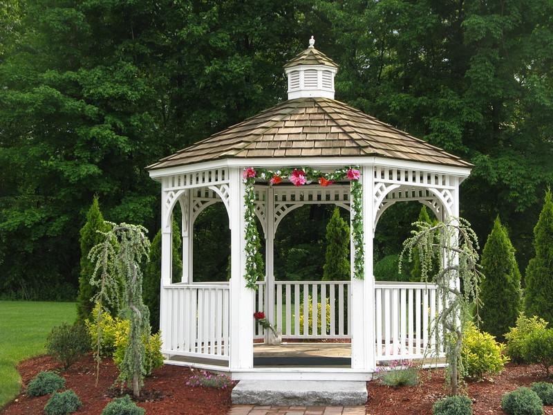 Gazebo Wedding Design Ideas, - Free House Plans
